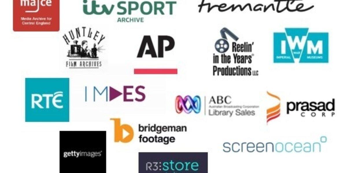 A grid of logos